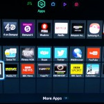 Find and launch the Tunein App on your Smart TV menu